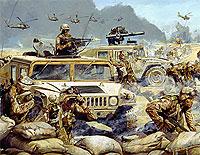 csatafestmény