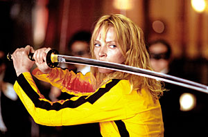 Tudta-e: Uma Thurman sárga ruhája Bruce Lee utolsó filmjében tűnt fel először a filmvásznon