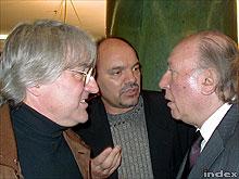 Koltai Lajos, Barbalics Péter és Kertész Imre