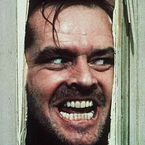 Jack Nicholson: Here's Johnny!
