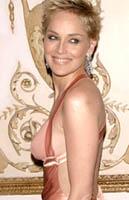 Sharon Stone áprilisban