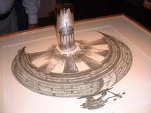 Orosz István anamorfózisa a Hágai Escher-palotában