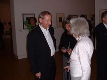 Nádas Péter és Ata Kando a hágai Fotómúzeumban
