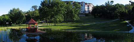 Az Ökocentrum parkja