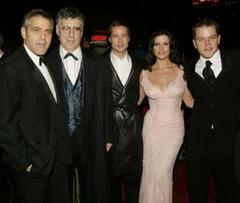 Clooney, Gould, Pitt, Zeta-Jones és Damon