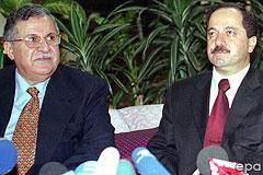 Dzsalal Talabani, Maszud Barzáni
