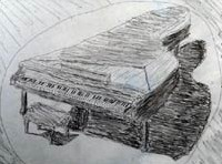A Zongorista rajza