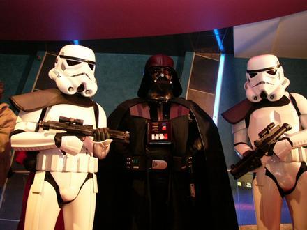 Darth Vader haverok közt // Fotó: Index, (c) 1999-2020 Index.hu