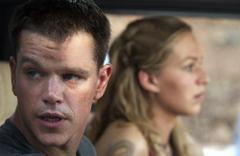 A Bourne-csapda, Matt Damon és Franka Potente