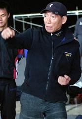Yuen Wo Ping a Mátrix forgatásán