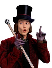 Willy Wonka (Johnny Depp)