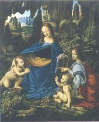 Sziklás Madonna - a Louvre-ban található változat