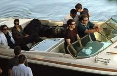 Cruise és csapata a hajón