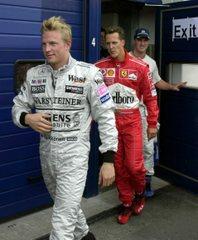 Raikkönen és Schumacher:<br />overált cserélnek?