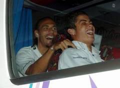 Rio Ferdinand és C. Ronaldo