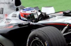 Raikkönen a héten Olaszországban tesztelte a McLarent