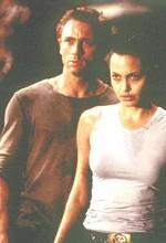 Craig Jolie-val a Tomb Raiderben
