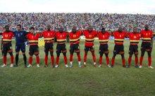 Az egyik afrikai újonc: Angola (fotó: epa)