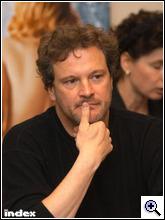 Colin Firth Budapesten