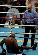 Tyson a padlón (fotó: epa)