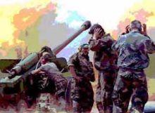 Tüzérségi támadás a szerbek ellen