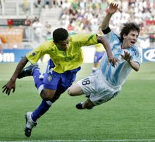 Leo Messi : WORLD CUP -20 : Holland 2005 Messi