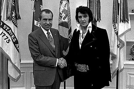 Nixon és Elvis