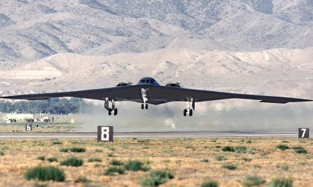 B-2-es felszállása
