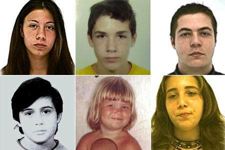 Eltűntek - arcok a rendőrség adatbázisából