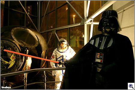Vader nagyúr a Közlekedési Múzeum erejét mutatja