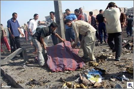Merénylet Irakban