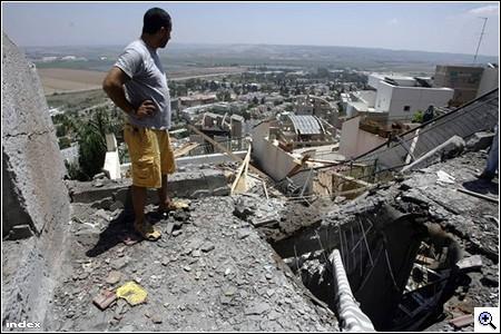 Rakéta érte Haifát