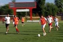 Általában nemcsak futás, meccs közben is lemaradtam (kép: TV Kispest)
