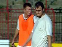 Tíz (harminc) kiló plusszal és szigorú tekintettel (Kép: TV Kispest)