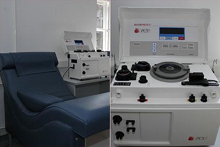A gép (Fotó: plazmaferezis.hu)