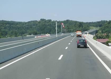 A horvát sztráda keskeny (fotók: NA Zrt.)