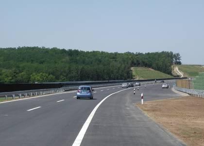 A magyar autópálya széles (fotók: NA Zrt.)