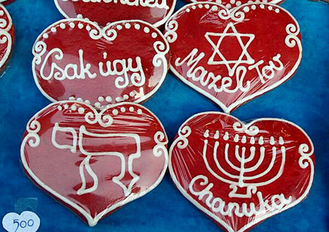 Mazel Tov, Chanuka ginger bread