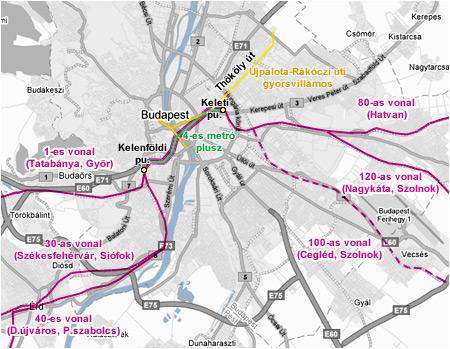 budapest térkép 4 es metró G Portál budapest térkép 4 es metró