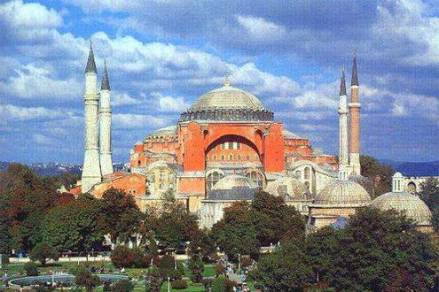 Négy minaretje van. // Fotó: --, (c) 1999-2021 Index.hu