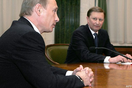 Putyin és Ivanov
