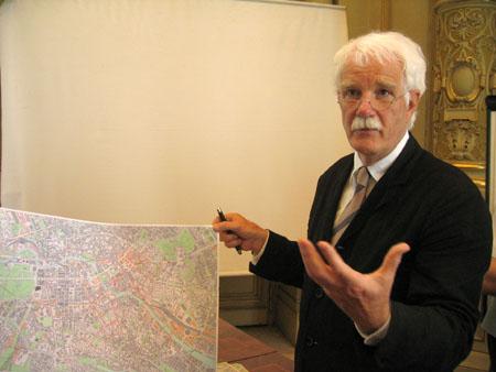 Hans Stimmann bemutatta a berlini terveket