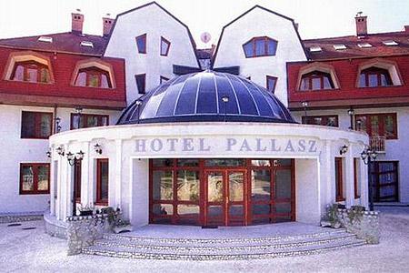 A hotel főbejárata