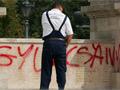 Gyurcsány neve a szovjet emlékművön