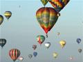 Hőlégballon-fesztivál Franciaországban