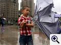 Tájfun csapott le Shanghaira
