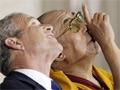 Bush kitüntette a dalai lámát