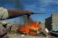 Tombol az erőszak Kenyában