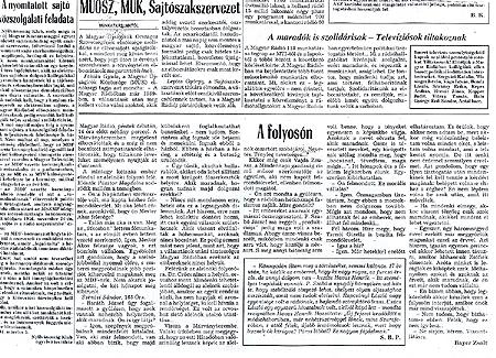 Olvassa el Bayer Zsolt könnyes riportját a rádiós elbocsátásokról(Népszabadság, 1994. március 5.
