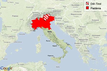 Del Tirol Terkep Marlpoint